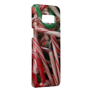 Candy Canes Christmas Holiday White Green and Red Case-Mate Samsung Galaxy S8 Case