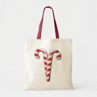 Candy Canes Holiday Gift Bag