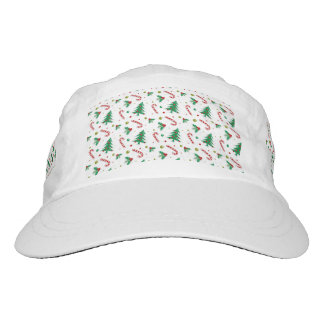 Candy Canes, Mistletoe, and Christmas Trees Hat