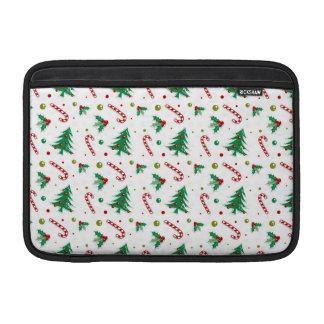 Candy Canes, Mistletoe, and Christmas Trees Sleeve For MacBook Air