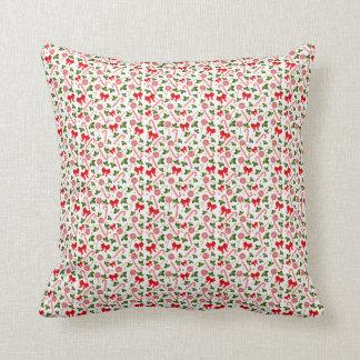 Candy Canes & Mistletoe's Cushion