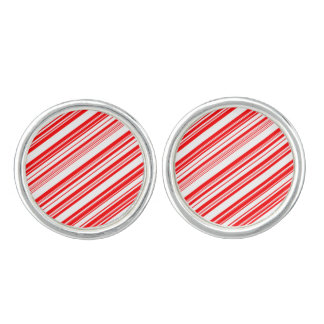 Candy Canes Peppermint Party 4Eve Cufflinks