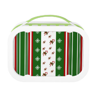 Candy Canes & Peppermint Stripes Lunchbox