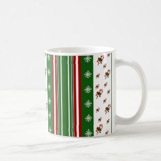 Candy Canes & Peppermint Stripes Mug