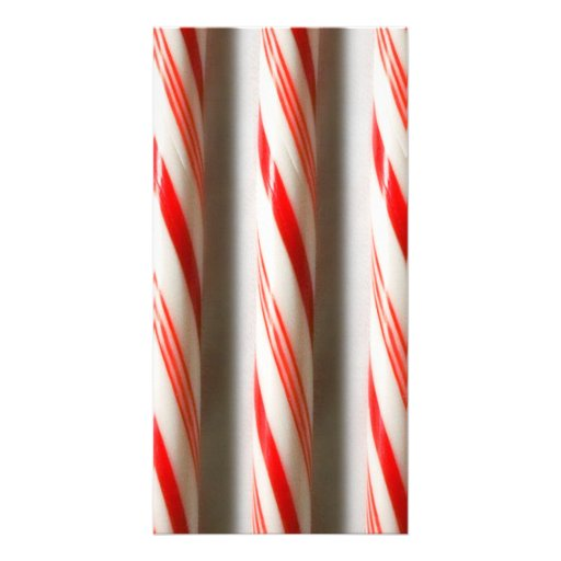 Candy Canes Photo Cards