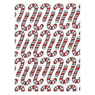 Candy Canes Tablecloth