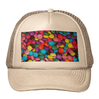 Candy cased choclate buttons Texture Template Cap