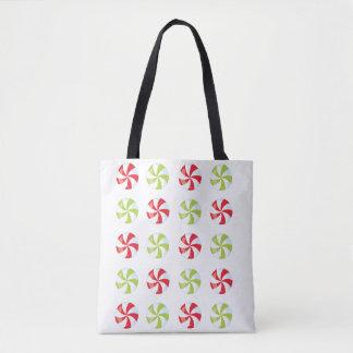 Candy Christmas Tote Bag