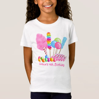 Candy Circus Birthday T- shirt