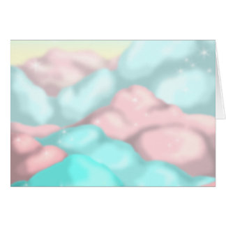 Candy Clouds Card