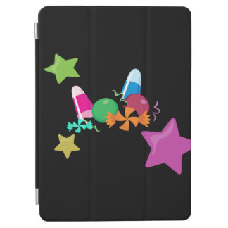 Candy Collage Halloween Design iPad Air Cover