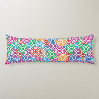 Candy Colored Circles Body Cushion
