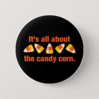 Candy Corn 6 Cm Round Badge