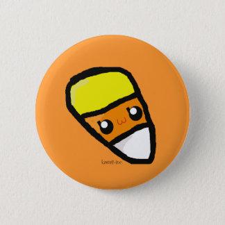 Candy Corn 6 Cm Round Badge