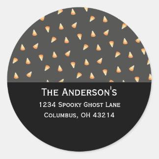 Candy Corn Address Labels