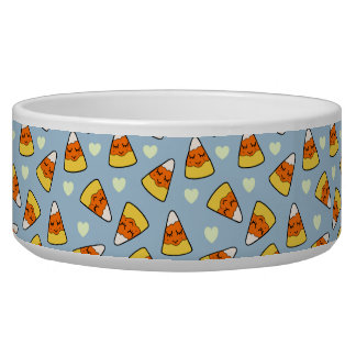Candy Corn and Heart Pattern