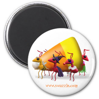Candy Corn Ants Magnet