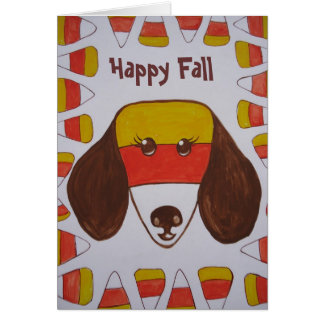 Candy Corn Card