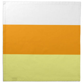 Candy Corn Color Napkin
