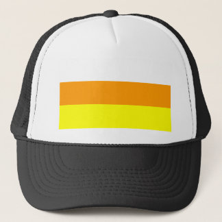 Candy Corn Color Trucker Hat