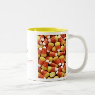 Candy Corn Customizable Mug
