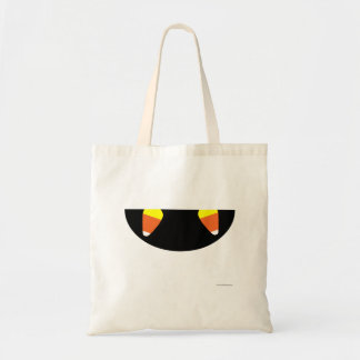 Candy Corn Fangs Tote Bag
