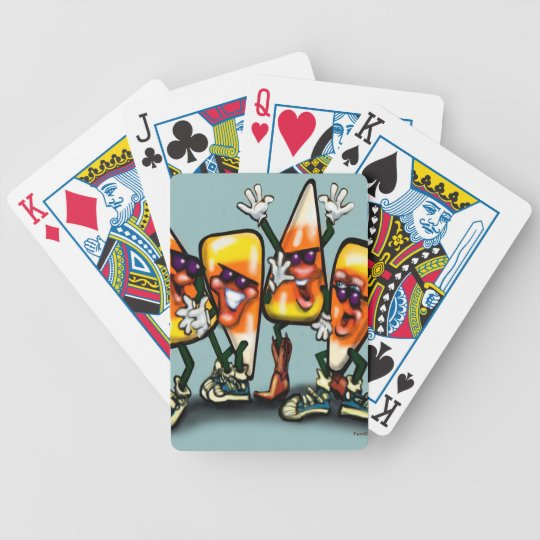 Candy Corn Gang Bicycle Playing Cards