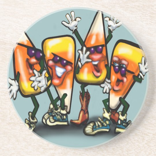 Candy Corn Gang Coaster