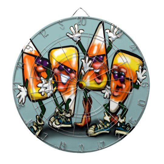 Candy Corn Gang Dartboard