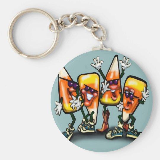 Candy Corn Gang Key Ring