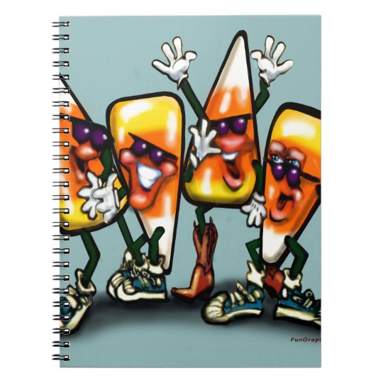 Candy Corn Gang Notebook