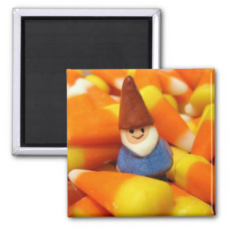 Candy Corn Gnome Magnet