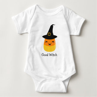 Candy Corn Good Witch Baby Bodysuit