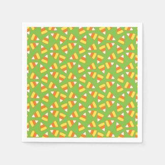 Candy Corn Halloween Napkins / Serviettes Paper Serviettes