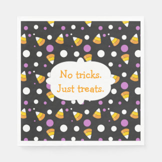 Candy Corn Halloween Party Napkins Paper Napkins