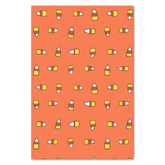 Candy Corn Halloween Party Tissue Paper