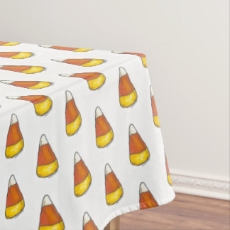 Candy Corn Halloween Thanksgiving Trick or Treat Tablecloth