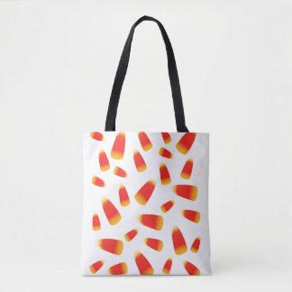 Candy Corn Halloween Tote Bag