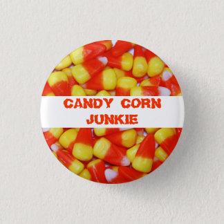 Candy Corn Junkie Button