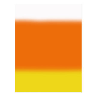 Candy Corn Ombre Postcard