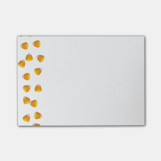 Candy Corn Post-It Notes