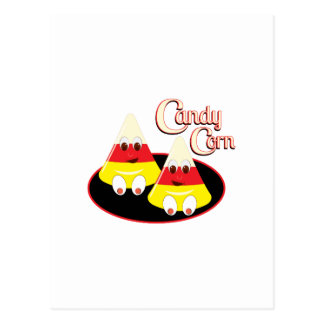 Candy Corn Postcard