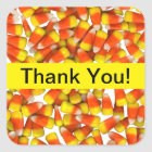 Candy Corn - Thank You Sticker