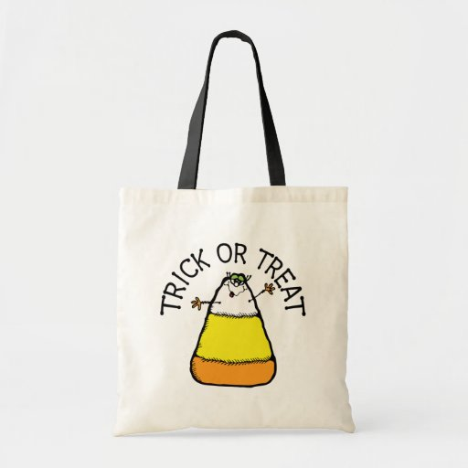 Candy Corn Trick Or Treat Bag Bag