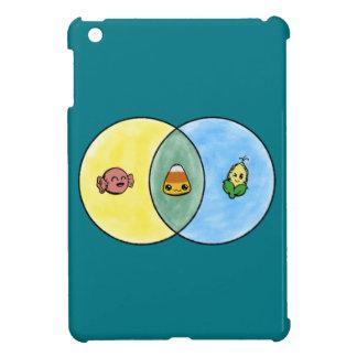 Candy Corn Venn Diagram iPad Mini Case