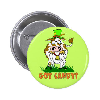 Candy Cow Button