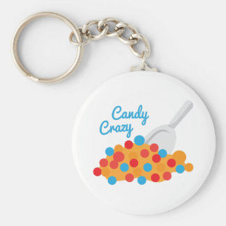 Candy Crazy Key Chain