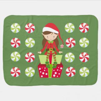 Candy Crush Christmas Baby Blanket