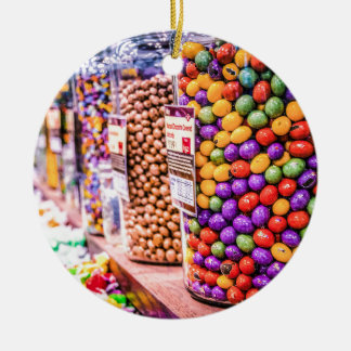 Candy Crush Round Ceramic Decoration