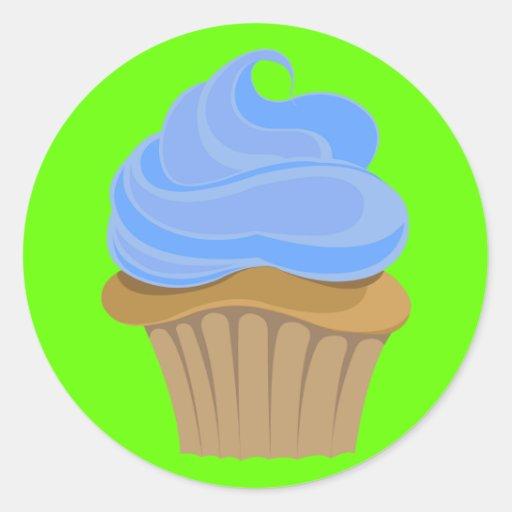 Candy Cupcake Sticker